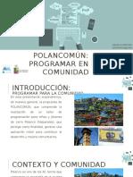 Polancomún. Daniela Pereira