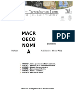 Ejercicios de Macroeconomia