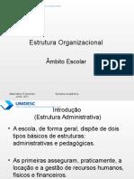 57827954 Estrutura Organizacional de Uma Escola
