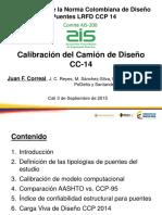 2. Calibración Del Camión de Diseño CC - 14 - Juan Francisco Correal