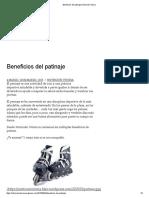 Beneficios Del Patinaje _ Nutrición Vitoria