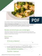 5 Recetas Con Brócoli Para Una Comida Ligera