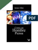 Allen James - Como Un Hombre Piensa