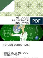 Método Deductivo e Inductivo