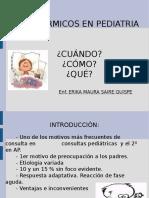 Fiebre y Pediatria