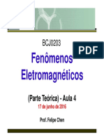 Aula4 Eletromag Teoria 17 Junho 2016