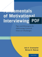 Julie a. Schumacher, Michael B. Madson-Fundamentals of Motivational Interviewing_ Tips and Strategies for Addressing Common Clinical Challenges-Oxford University Press (2014)