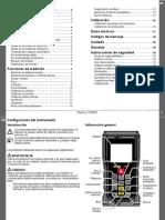 Manual Distanciometro Stanley TLM330 ES