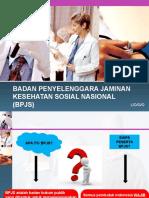 Badan Penyelenggara Jaminan Kesehatan Sosial Nasional (Bpjs