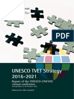 Unesco Tvet Strategy 2016-2021