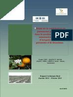 Etude de La Contribution Du Partenariat Public-privé Dans La Gestion Durable Et La Valorisation de l'Eau d'Irrigation Dans Le Périmètre d'El Guerdane