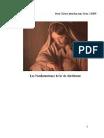 09. Les Fondamentaux de la vie chrétienne