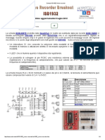Scheda ISD1932 Voice Recorder