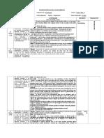 Planificación Clase a Clase Unidad 3 Relaciones Interpersonales