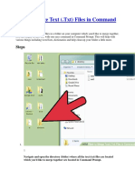 How to merge multiple files in windows...