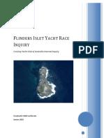 Cyca Flinders Islet Internal Inquiry Report