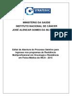Edital Inca 2015