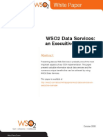 Wso2 Whitepaper Wso2 Data Services an Executive Overview