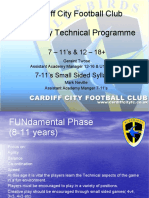 Cardiff City Technical Programme