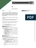 Lista de Exercícios 1ºAno_Apostila 01 - Português - Módulo 01 (Exercício 01)