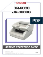 Canon DR-6080 and 9080C Service Reference