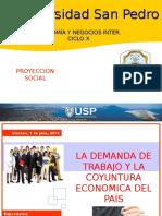 Proyecto de Emprendimiento Social «La Demanda de Trabajo y La Coyuntura Economicadel País» b
