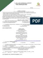 Examen Diagnostico Español