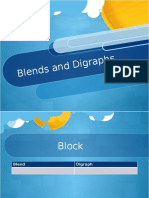 blends and diagraphs activity