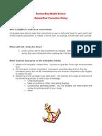 test retake-correction format 2016
