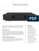 CI 980 Multi-Channel Amplifier Data Sheet