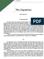 Holloway J - The Zapatistas