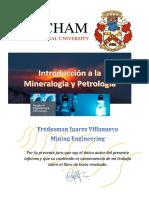 Introduccion a La Mineralogia y Petrologia