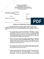 affidavit of arresting officer.docx