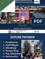 Rencana Penataan Kawasan Di Sepanjang Pipa Gas Di Kabupaten Bekasi
