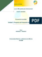 U3. Proyecto de Promocion de Ventas