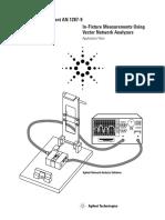 In-Fixture Measurements Using Vector Network Analyzers
