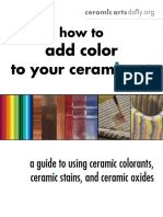Howtoaddcolor to Your Ceramic Art