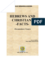 HEBREWS AND CHRISTIANS - Documentary Facts - May 2011