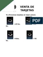 PRECIOS TARJETAS STEAM.docx