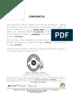 Constancia de Ingreso Mensual de Paula 2016 Abril