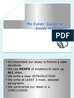writing and essay powerpoint updated