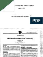 Combination Foam, Fluid Fracturing