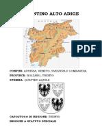 Trentino Alto Adige - testo semplificato con immagini da colorare