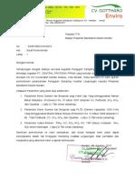 Surat Permohonan Sampling