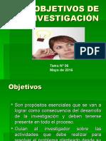 Objetivos, Hipótesis, Variables e Indicadores_TESIS
