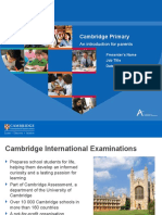 Cambridge-Primary for  Parents.ppt