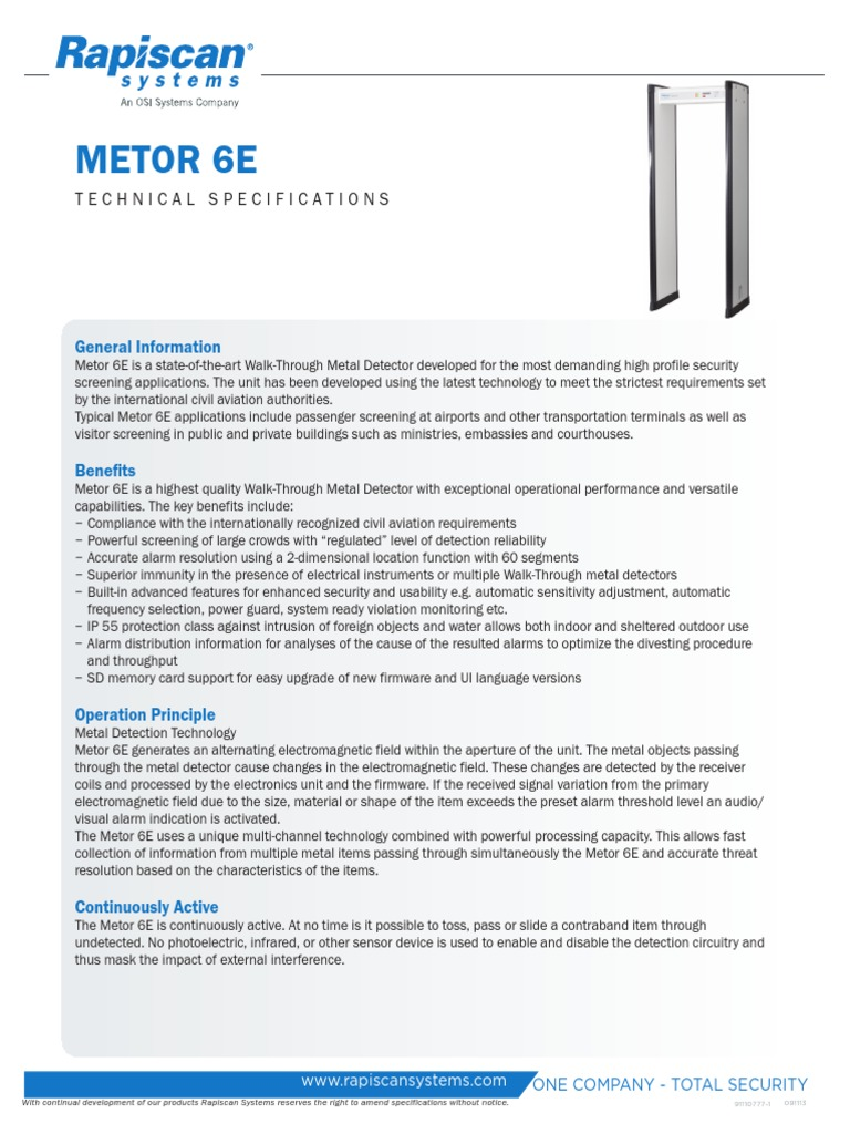 10683 metor 6e technical specifications metal detector mains rh scribd com Active Build Metal Detector Bounty Hunter Metal Detectors Homepage
