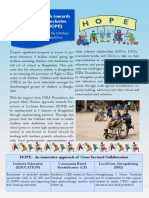 Holistic approach towards Promotion of inclusive Education(HOPE)-One pager