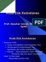 Kode Etik kedokteran.ppt