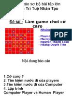 Báo cáo Bài toán cờ caro